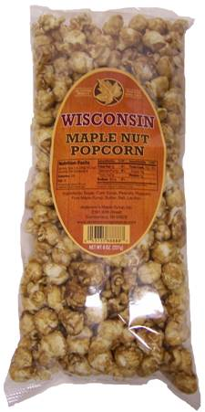 Maple Nut Popcorn